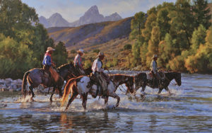 Crossing the Gros Ventre